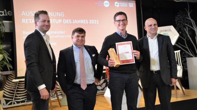 inoqo ist Sieger der Retail Startup Night. © Handelsverband