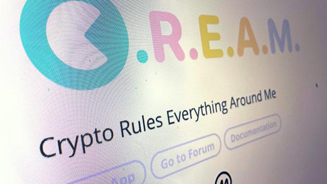 Startseite von Cream Finance. © Trending Topics
