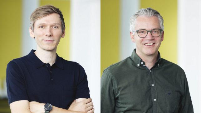 Alexander Bitsche und Christoph von Bülow, Co-CEOs von Webgears. © Webgears