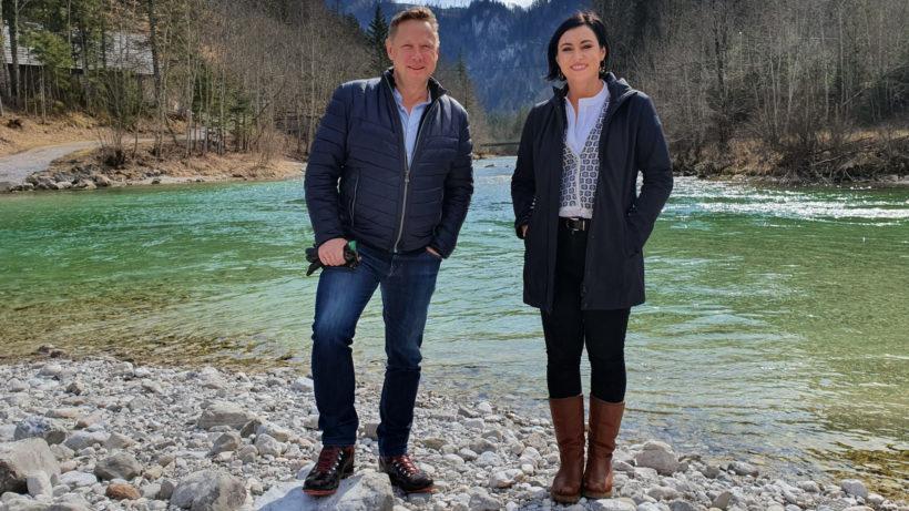 Herbert Gartner und Ministerin Elisabeth Köstinger (ÖVP). © eQventure