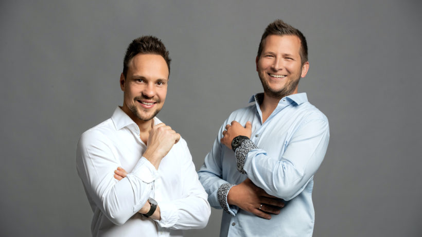Roman Sixl und Christian Gubik von Jungold. © Jungold