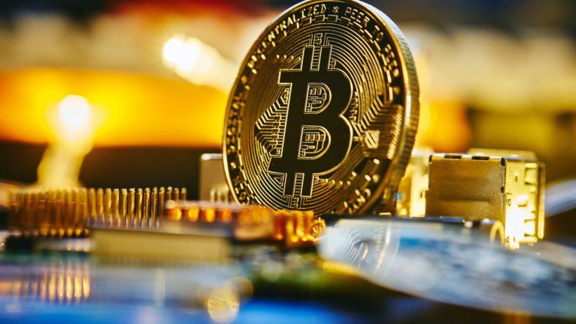 Bitcoin. © Michael Förtsch on Unsplash