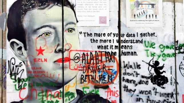 Zuckerberg-Graffiti. © Snowscat on Unsplash